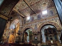 Interior view of La Iglesia de El Sagrario; Quito