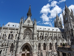 Basílica del Voto Nacional, the largest neo-Gothic basilica in the Americas