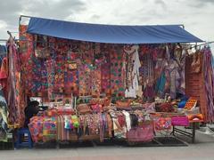 Otavalo tourist market
