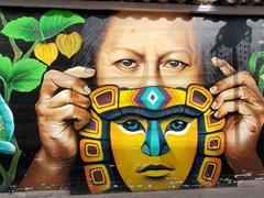 Street art; Otavalo