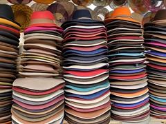 Hats for sale; Otavalo Market