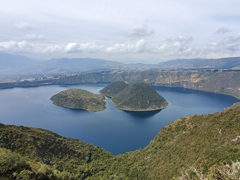 Crater lake of Cuicocha