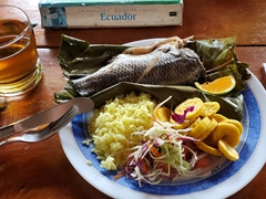 Fish for lunch; Arajuno Jungle Lodge
