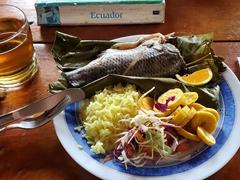 Fish for lunch; Arajuno Jungle Lodge