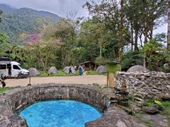 Camping at Pequeno Paraiso; 18 km away from Banos