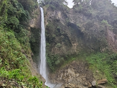 Machay waterfall - well worth the short hike!