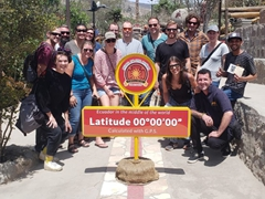 Our Oasis group at Ciudad Mitad del Mundo