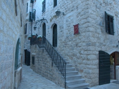 Getting lost in the cobblestoned streets of Old Kotor