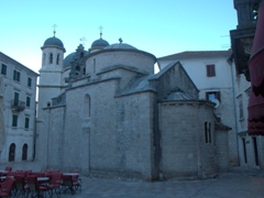 Rear view of Saint Luke (Sveti Luka) Church