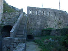 One of the many bastions built as part of Kotor's medieval fortifications