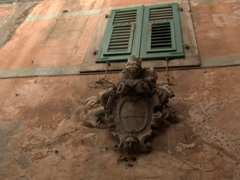 Detail of a window in Kotor's Old Town