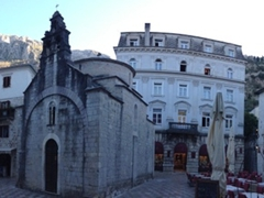 Panoramic view of Saint Lucas Square