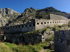 Panoramic view of St John's Fortress