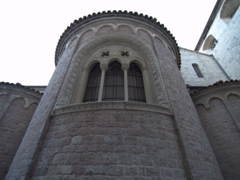 Detail of the rear side of St. Tryphon Cathedral
