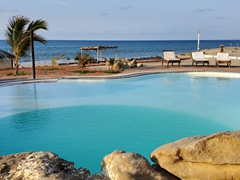 Swimming pool at Waltako Beach Culture, Punta Sal