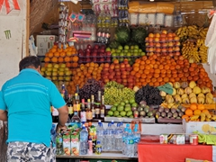 Fruit seller; Mancora