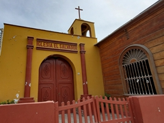 El Salvador church; Huanchaco