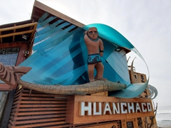 Huanchaco allegedly has a 5000 year old surfing history and is considered the birthplace of surfing