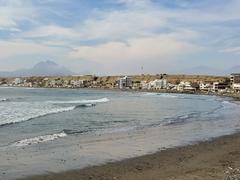 Huanchaco's beach scene