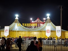 Going to the circus in Trujillo - so much fun!