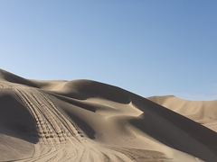 We enjoyed our 30 minute dune buggy ride at ridiculous speeds on the sand dunes of Huacachina
