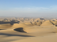 The glorious sand dunes of Huacachina