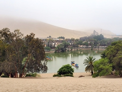 The lovely desert oasis of Huacachina