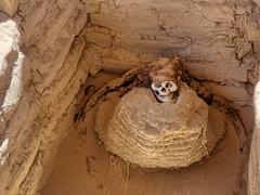 Mummified human remains; Chauchilla Cemetery
