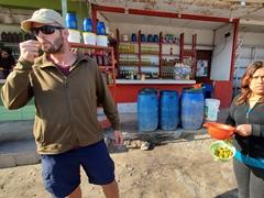Free olive tasting in Yauca