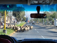 Traffic jam; Arequipa