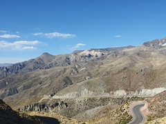 Scenery on our drive to Colca Canyon