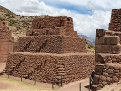 Rumiqullqa, an Incan archeaological site near Cusco