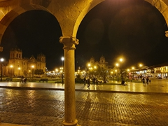 Cusco at night is particularly beautiful