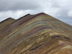 One of three rainbow mountains of Palcoyo