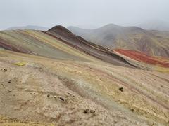 The second rainbow mountain of Palcoyo