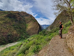 Day 2 of our Inca Jungle Trek involved hiking from Santa Maria to Santa Teresa