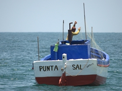 Fishing boat; Punta Sal