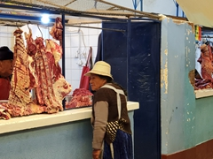 Meat market; Uyuni