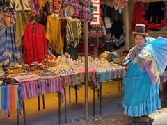 Souvenir vendor; Colchani