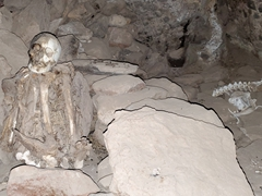 Mummies of Coqueza nestled on Tunupa Volcano