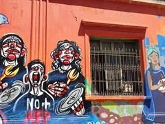 Street art; Santiago