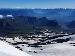 Phenomenal views as we climb higher and higher up Villarrica Volcano