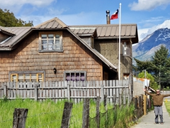 We loved the architecture in Futaleufú, a frontier town in Northern Patagonia