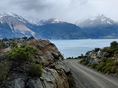 The stunning drive around General Carrera Lake (which straddles both Chile and Argentina)