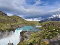 Salto Grande waterfall; Torres del Paine