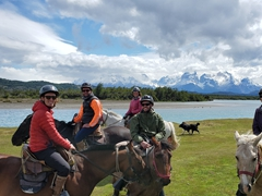 Mitch, Danny and Emily join us for a 3 hour horse ride; Rio Serrano