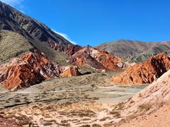 Mirador los Colorados, a short hike from Purmamarca