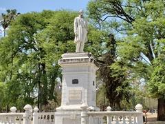 Statue of Doctor Facundo de Zuviria; San Martin Park in Salta
