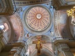 Interior dome of San Francisco convent; Salta