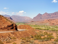Stunning scenery on our drive from Salta to Cafayate